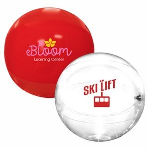 "16"" Solid-Color Beach Ball"